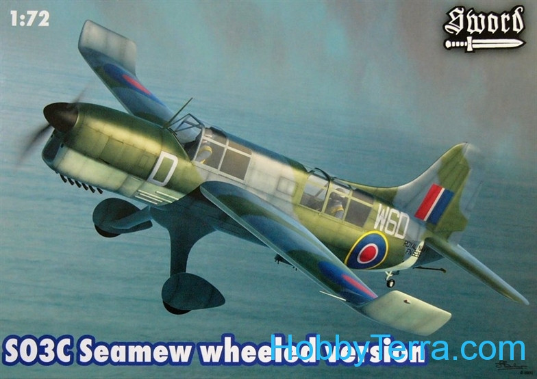 Curtiss SO3C Seamew wheeled version