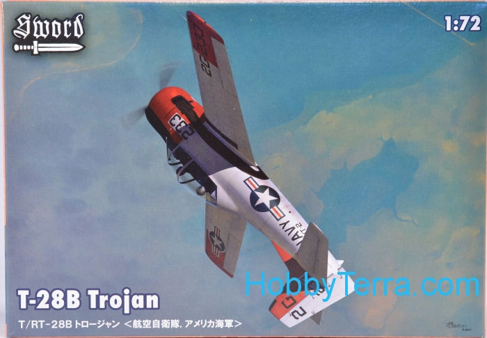 North-American T-28B Trojan (US NAVY, Japan)