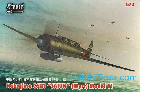 C6N1 Saiun (Myrt) (4x decal versions)