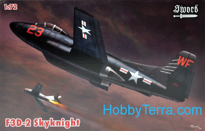 Douglas F3D Skynight (5x decal versions)