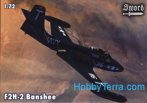 McDonnell F2H-2 Banshee (2x decals, PE parts)