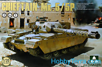 British Main Battle Tank Chieftain Mk.5/P 2 in 1