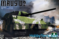 Maus V2 WWII German super heavy tank