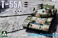 T-55A Russian medium tank (3 in 1)