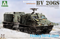 Bandvagn Bv 206S Articulated Armored Personnel Carrier