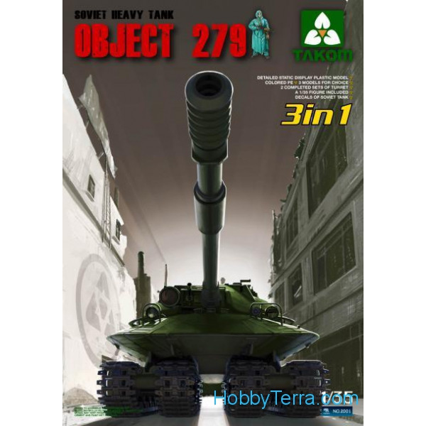 Soviet heavy tank Object 279 (3 in 1)