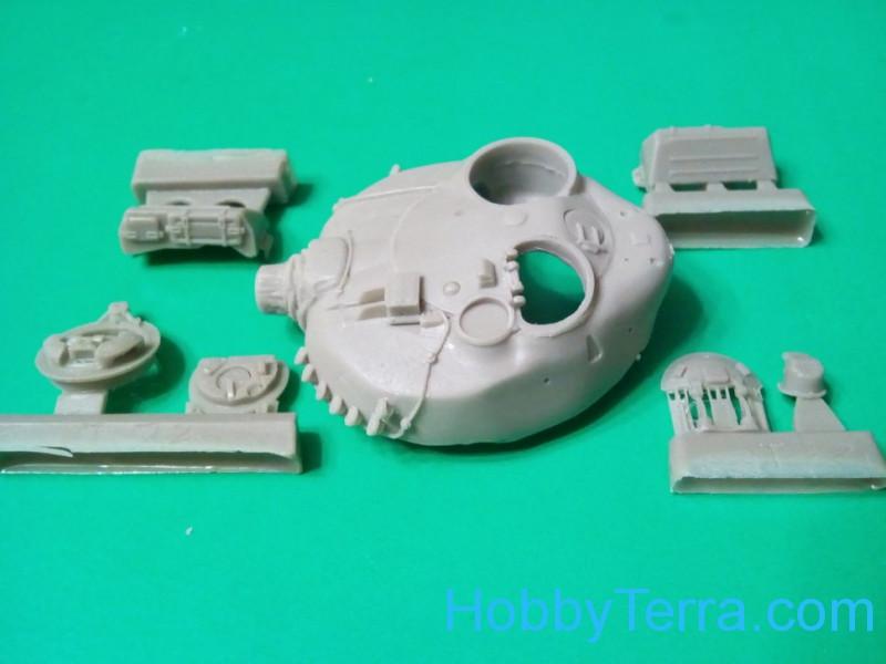 Turret T-72A (Model Collect, Revell) Tankograd 72041 ...