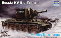 "Russian KV ""Big Turret"" tank"