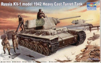 Russia KV-1 model 1942 Heavy Cast Turret Tank