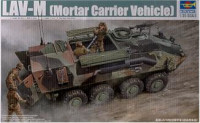 LAV-M Mortar Carrier Vehicle 1/35 Scale