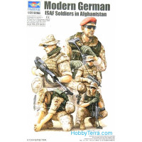 Modern German ISAF soldiers in Afghanistan