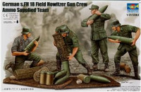 German Field Howitzer Gun Crew