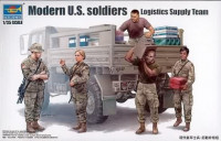 Modern U.S. soldiers – Logistics Supply Team