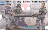 Modern U.S. Army Stretcher ambulance team