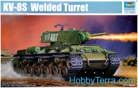 Soviet KV-8S Welded Turret
