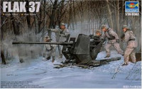 German IIWW Anti-Aircraft Gun FLAK 37 (3,7cm)