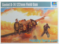 Soviet D-74 122mm field gun