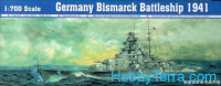 German Bismarck battleship, 1941