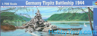 German Tirpitz battleship, 1944