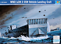 WW2 LCM 3 USN vehicle landing craft