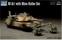 M1A1 Abrams with Mine Roller Set
