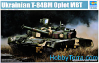 "Ukrainian T-84BM ""Oplot"" main battle tank"