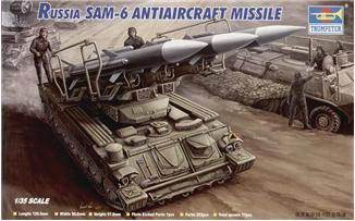 Trumpeter 1/35 Russian SAM 6 antiaircraft missile