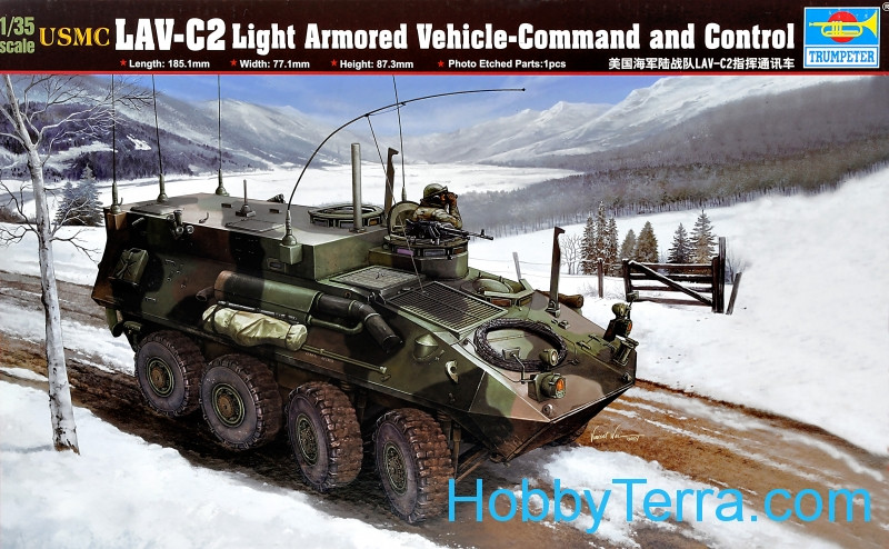 USMC LAV-C2 Light Armored Vehicle Command and Control