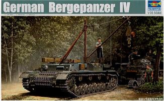 Trumpeter  00389 German Bergepanzer IV Recovery Vehicle