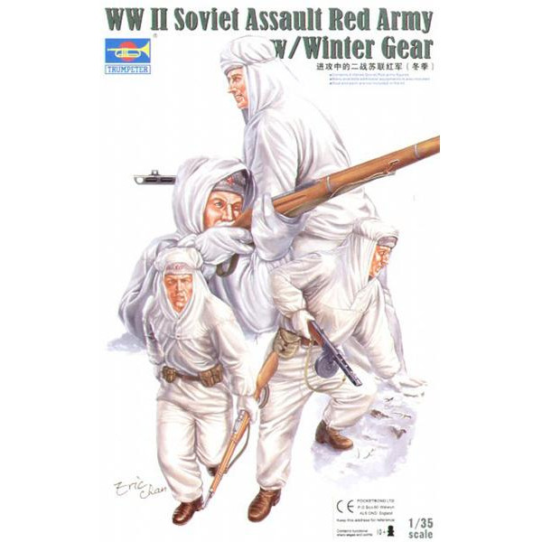 WWII Soviet Assuault Red Army (Winter Gear)