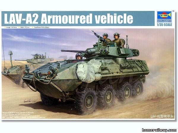 LAV-A2 8X8 wheeled Armoured Vehicle