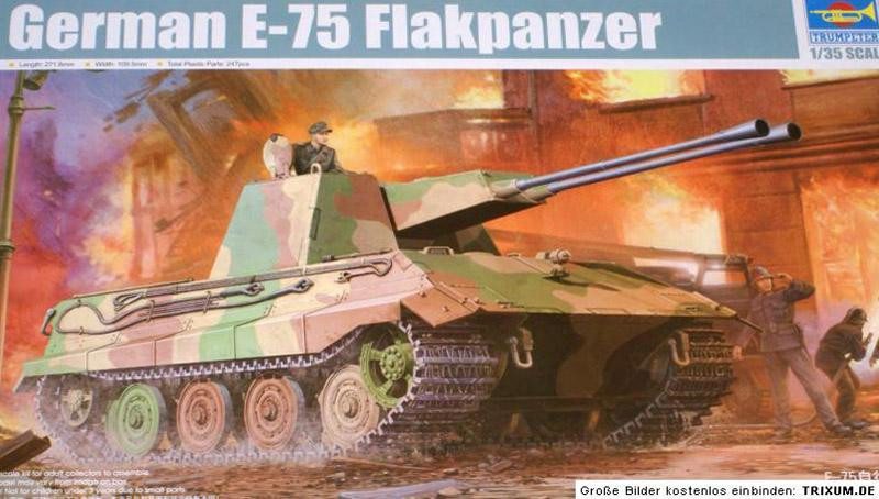 German E-75 Flakpanzer