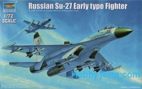Su-27 (early type) Russian fighter