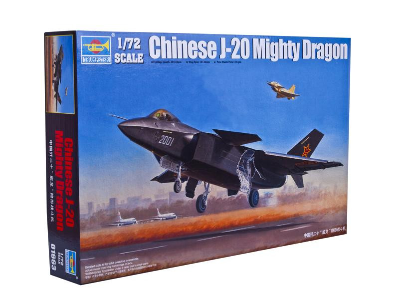 Chinese J-20 Mighty Dragon