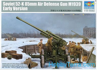 Soviet 52-k 85mm Air Defense Gun M1939 Early Version