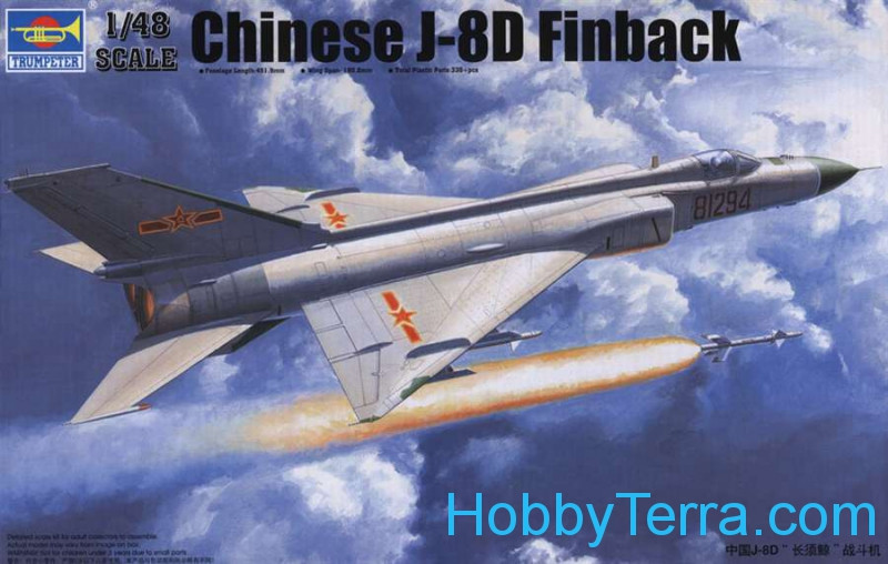 Trumpeter  02846 Chinese aircraft J-8IID