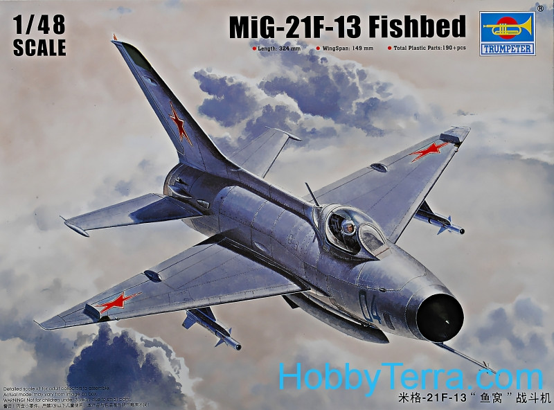Trumpeter  02858 Mig-21F-13 Fishbed