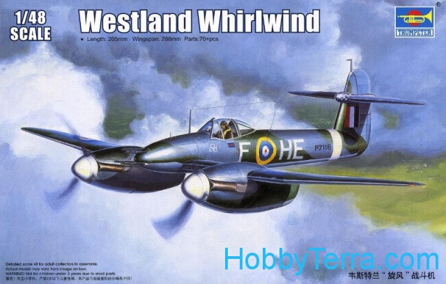 Westland Whirlwind RAF fighter