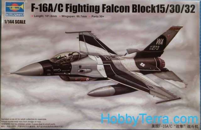 F-16A/C Fighting Falcon Block15/30/32 fighter