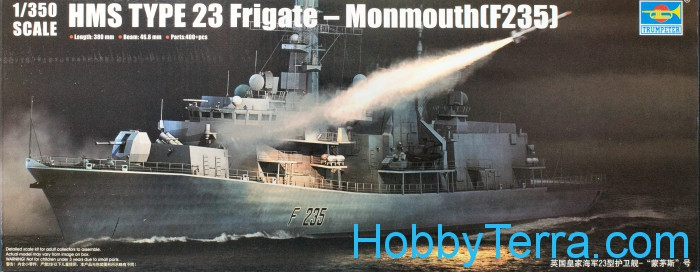 HMS TYPE 23 Frigate Monmouth (F235)