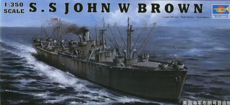 S.S JOHN W BROWN Liberty Ship