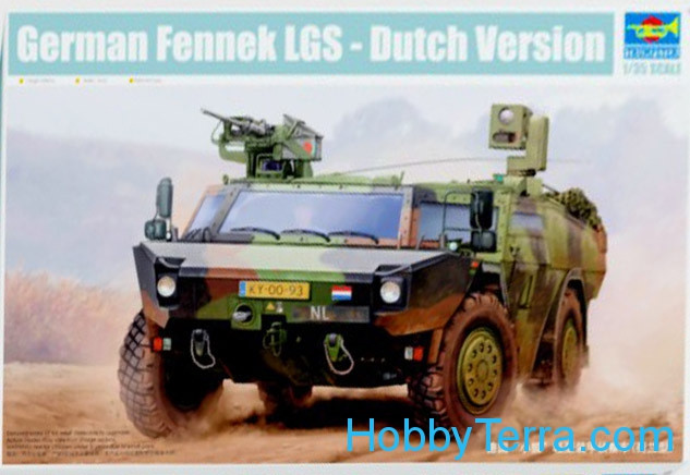 German Fennek LGS, Dutch version