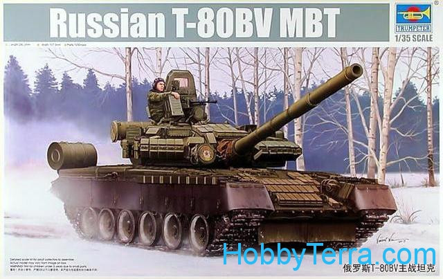 Soviet T-80BV main battle tank