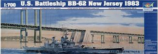 U.S. Battleship BB-62 New Jersey 1983