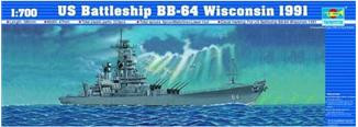 US Battleship BB-64 Wisconsin 1991
