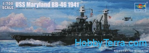 Maryland BB-46 1941