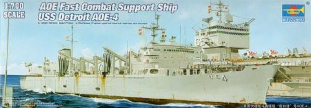 AOE Fast Combat Support Ship USS Detroit AOE-4