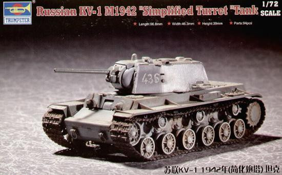 "Russian KV-1 M1942 ""Simplified Turret"""
