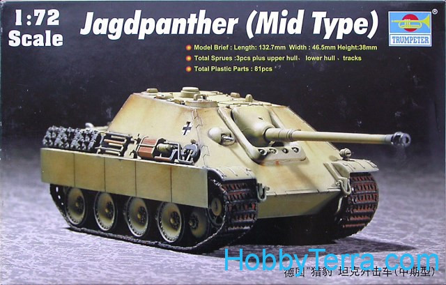 JagdPanther, mid type