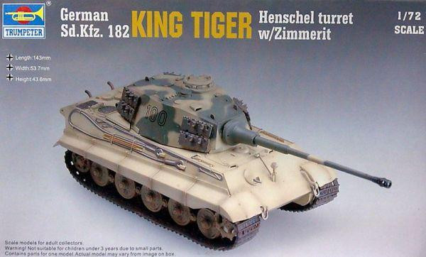 Trumpeter  07291 German Sd.Kfz.182 King Tiger